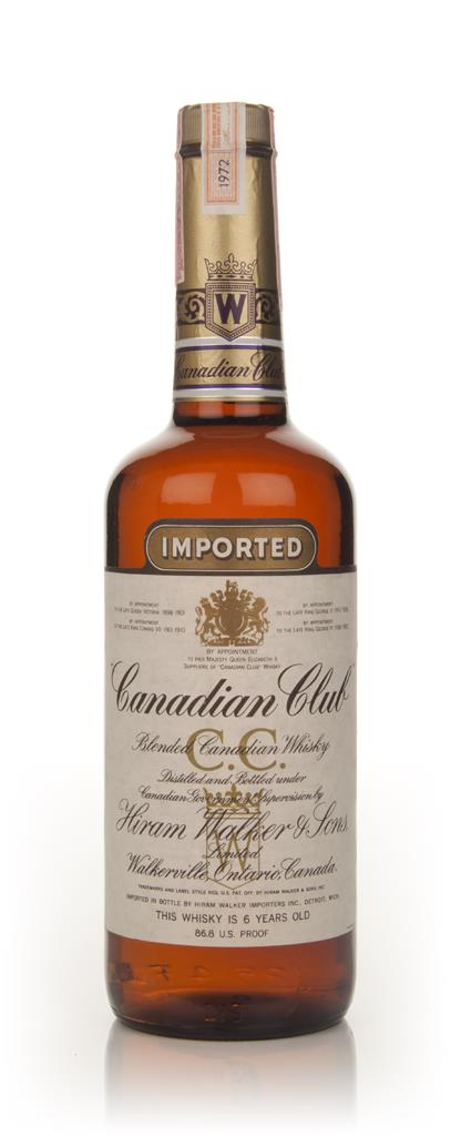 Canadian Club 6 Year Old Whisky - 1972 Blended Whisky
