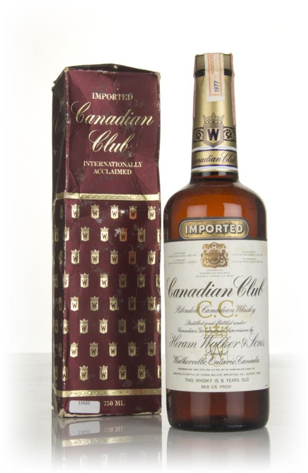 Canadian Club 6 Year Old Whisky - 1983 (with Presentation Box) Blended Whisky