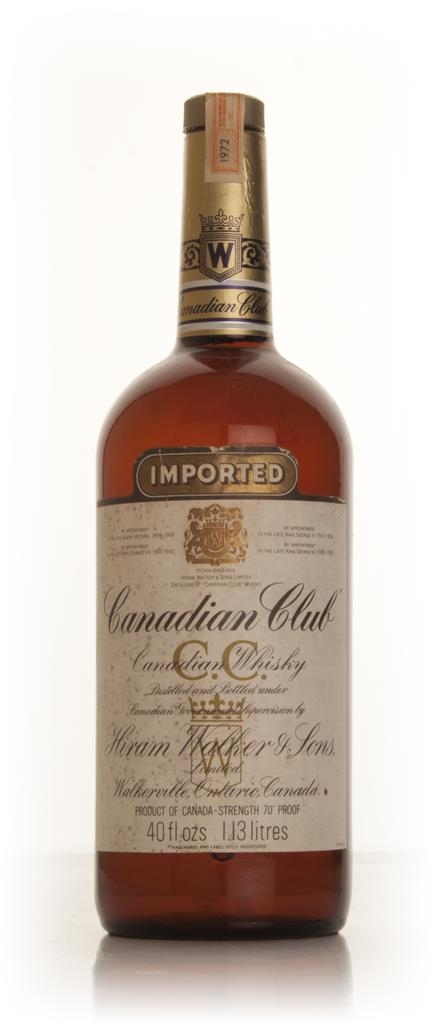 Canadian Club 113cl - 1972 Blended Whisky