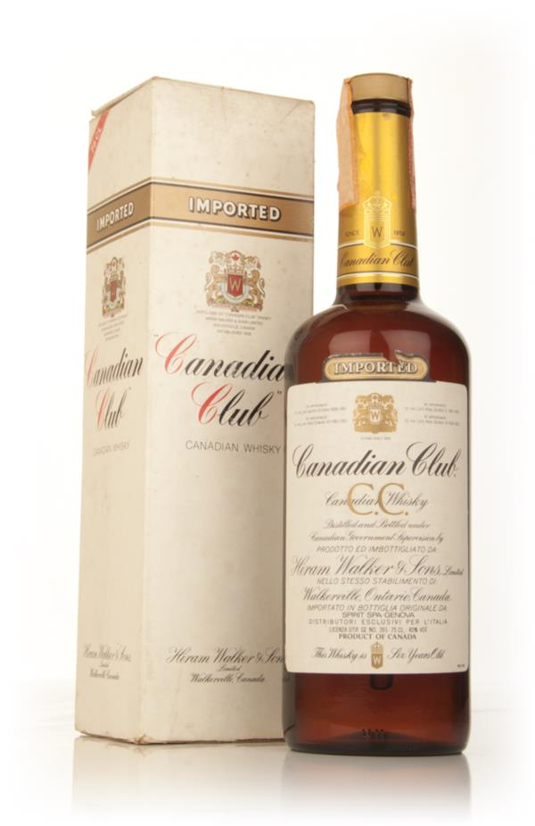 Canadian Club 6 Year Old Whisky - early 1980s Blended Whisky