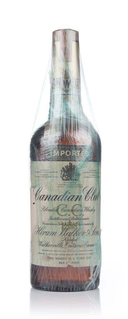 Canadian Club 6 Year Old Whisky - 1960 Blended Whisky