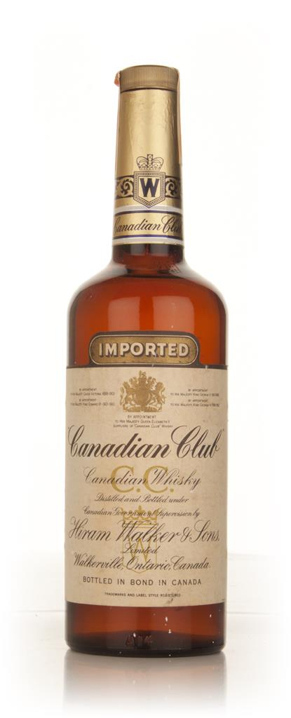 Canadian Club Whisky - 1959 Blended Whisky