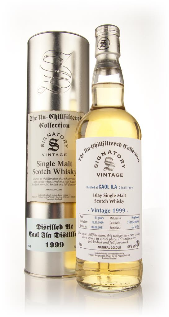 Caol Ila 11 Year Old 1999 - Un-Chillfiltered (Signatory) Single Malt Whisky