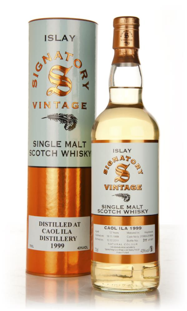 Caol Ila 12 Year Old 1999 Casks 310801 & 310806 (Signatory) Single Malt Whisky