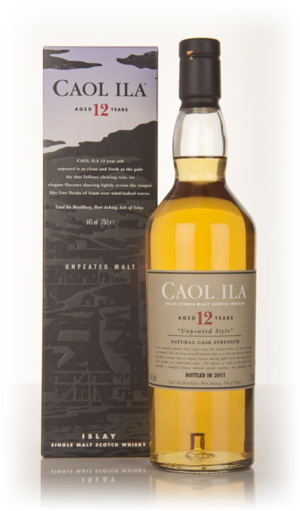 Caol Ila 12 Year Old Unpeated (2011 Release) Single Malt Whisky