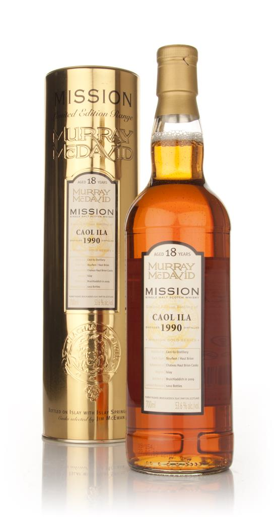 Caol Ila 18 Year Old 1990 - Mission (Murray McDavid) Single Malt Whisky