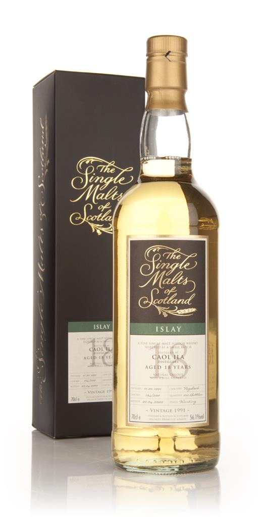 Caol Ila 18 Year Old 1991 - Single Malts of Scotland (Speciality Drink Single Malt Whisky