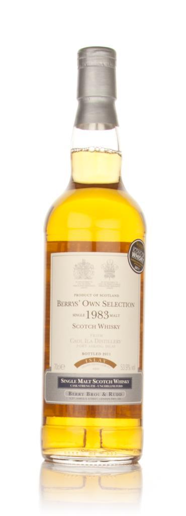 Caol Ila 1983 (Berry Brothers and Rudd) Single Malt Whisky