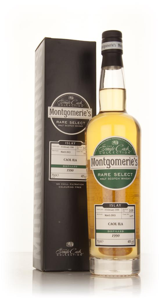 Caol Ila 23 Year Old 1990 (cask 1477) - Rare Select (Montgomeries) Single Barrel Whisky