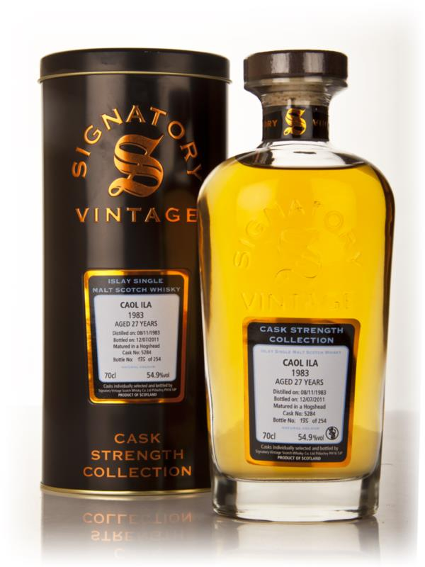 Caol Ila 27 Year Old 1983 Cask 5284 - Cask Strength Collection (Signat Single Malt Whisky