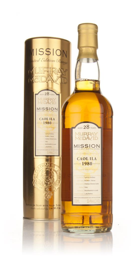 Caol Ila 28 Year Old 1980 - Mission (Murray McDavid) Single Malt Whisky