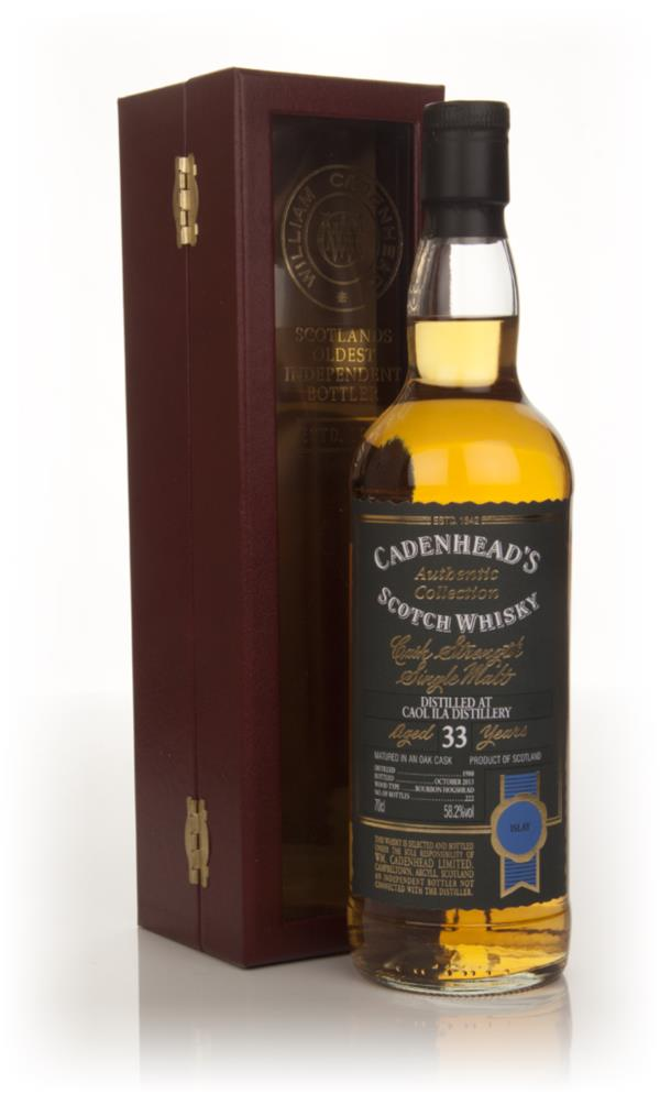 Caol Ila 33 Year Old 1980 - Authentic Collection (WM Cadenhead) Single Malt Whisky