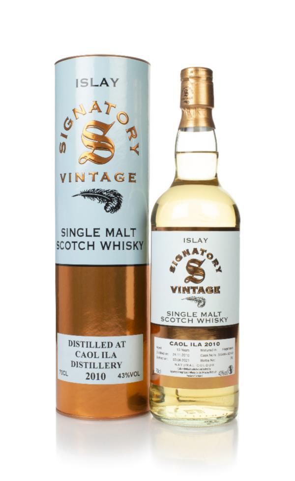 Caol Ila 10 Year Old 2010 (casks 322460 & 322468) - Signatory Single Malt Whisky