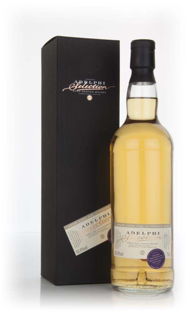Caol Ila 11 Year Old 2001 (cask 303802) (Adelphi) Single Malt Whisky