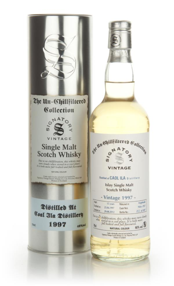 Caol Ila 15 Year Old 1997 - Un-Chillfiltered (Signatory) Single Malt Whisky