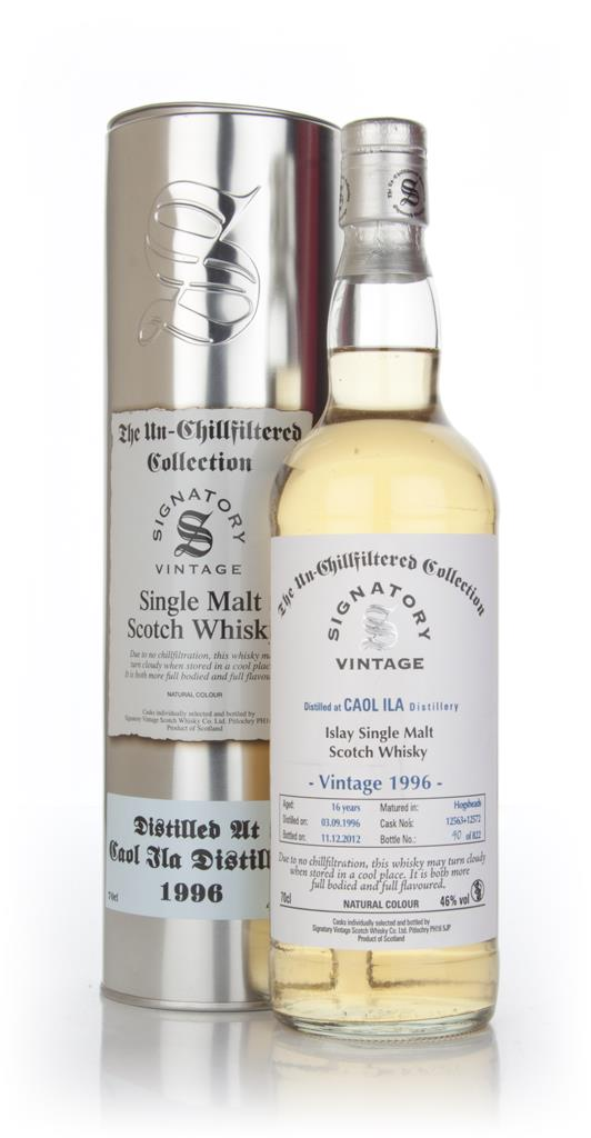 Caol Ila 16 Year Old 1996 (casks 12567+12575) - Un-Chillfiltered Colle Single Malt Whisky