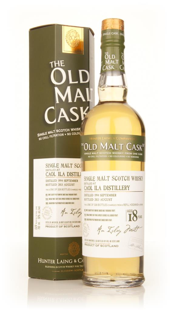Caol Ila 18 Year Old 1994 (cask 9913) - Old Malt Cask (Hunter Laing) Single Malt Whisky