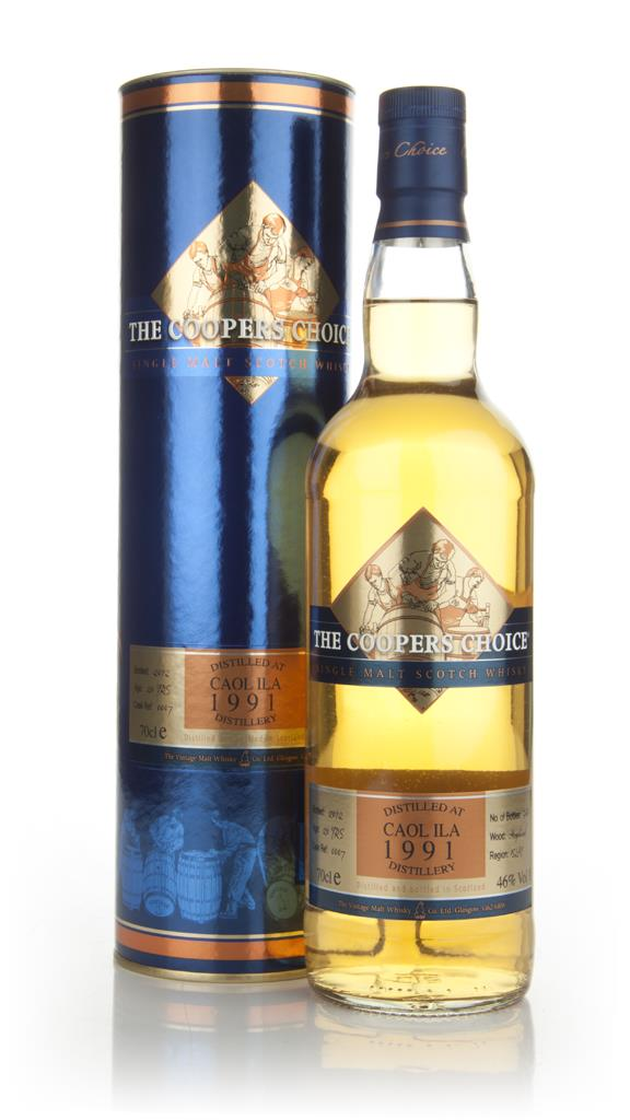 Caol Ila 20 Year Old 1991 - The Coopers Choice Single Malt Whisky