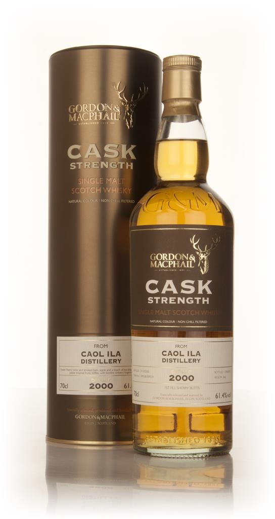 Caol Ila 2000 (casks 309558+309559) - Cask Strength (Gordon & MacPhail Single Malt Whisky