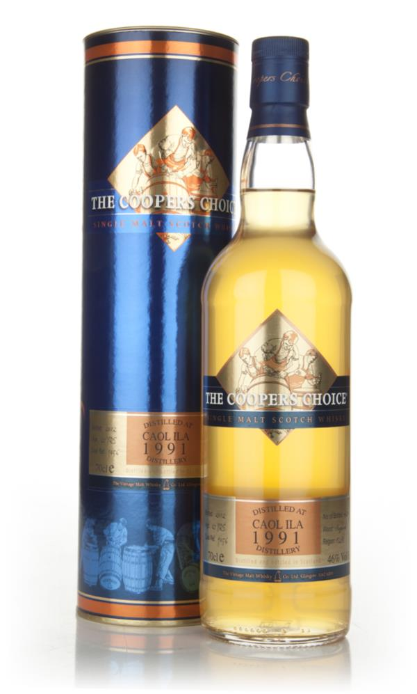 Caol Ila 21 Year Old 1991 - Coopers Choice (Vintage Malt Whisky Co) Single Malt Whisky