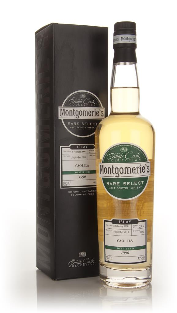 Caol Ila 23 Year Old 1990 (cask 1482) - Rare Select (Montgomerie's) Single Malt Whisky