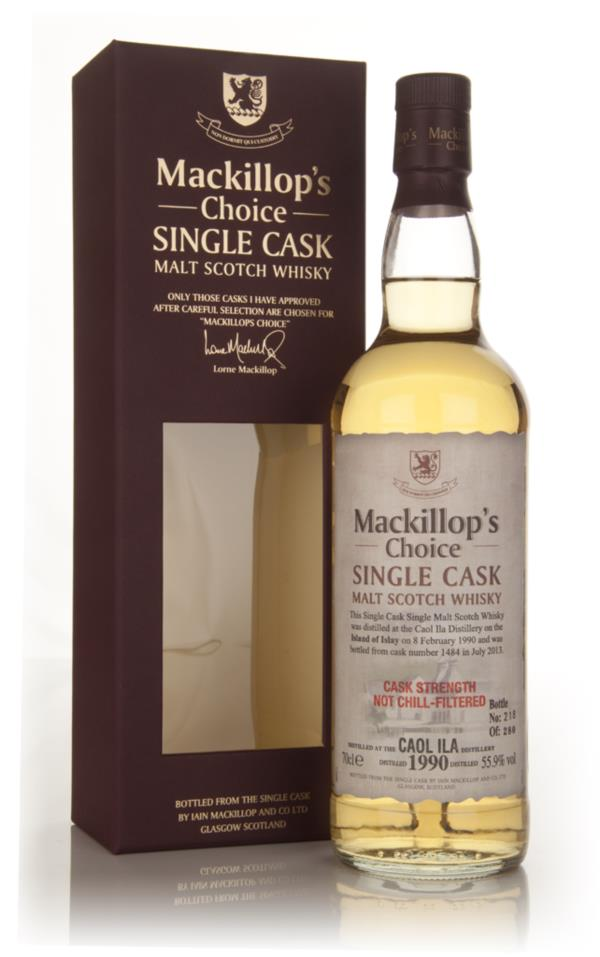 Caol Ila 23 Year Old 1990 (cask 1484) - Mackillop's Choice Single Malt Whisky