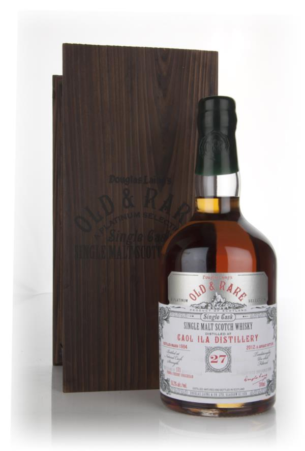 Caol Ila 27 Year Old 1984 - Old and Rare (Douglas Laing) Single Malt Whisky