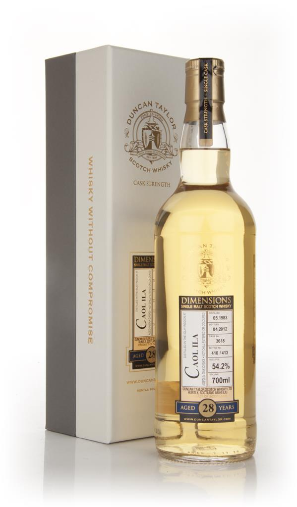 Caol Ila 28 Year Old 1983 - Dimensions (Duncan Taylor) Single Malt Whisky