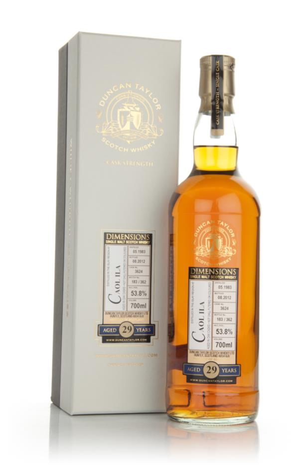 Caol Ila 29 Year Old 1983 - Dimensions (Duncan Taylor) Single Malt Whisky