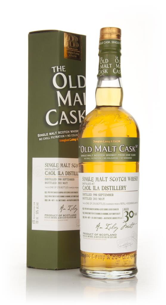 Caol Ila 30 Year Old 1980 - Old Malt Cask (Douglas Laing) Single Malt Whisky