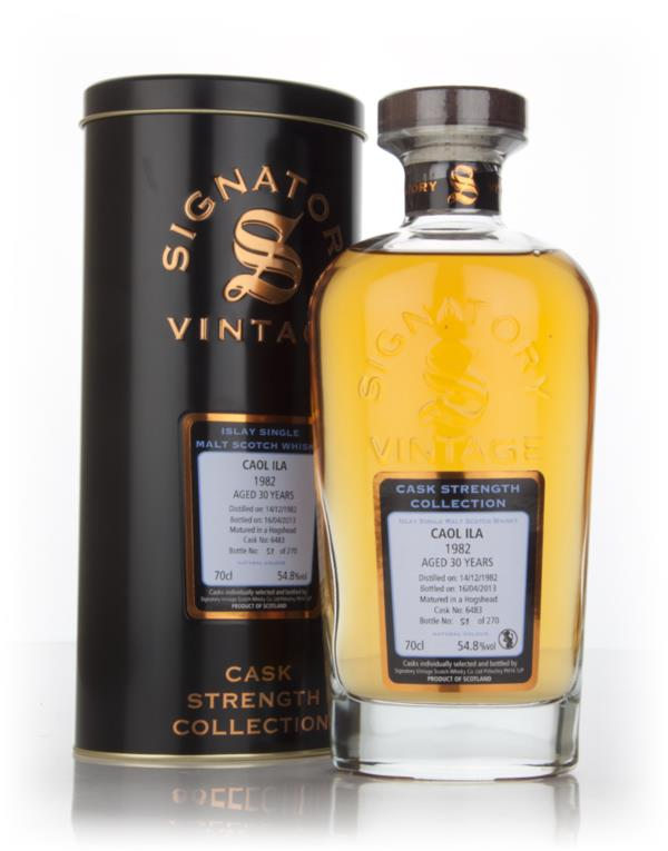 Caol Ila 30 Year Old 1982 (cask 6483) - Cask Strength Collection (Sign Single Malt Whisky