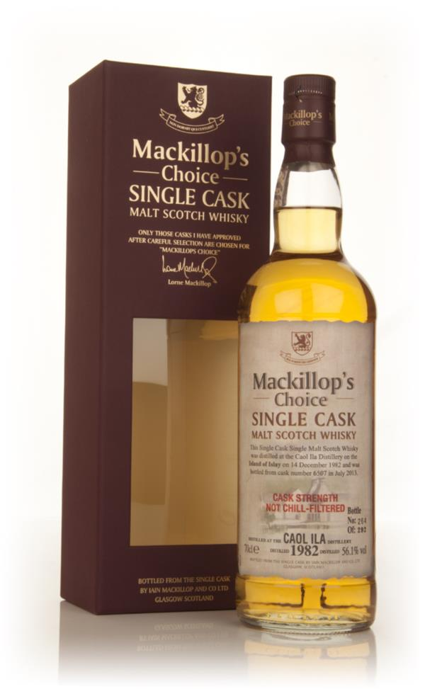 Caol Ila 30 Year Old 1982 (cask 6507) - Mackillop's Choice Single Malt Whisky