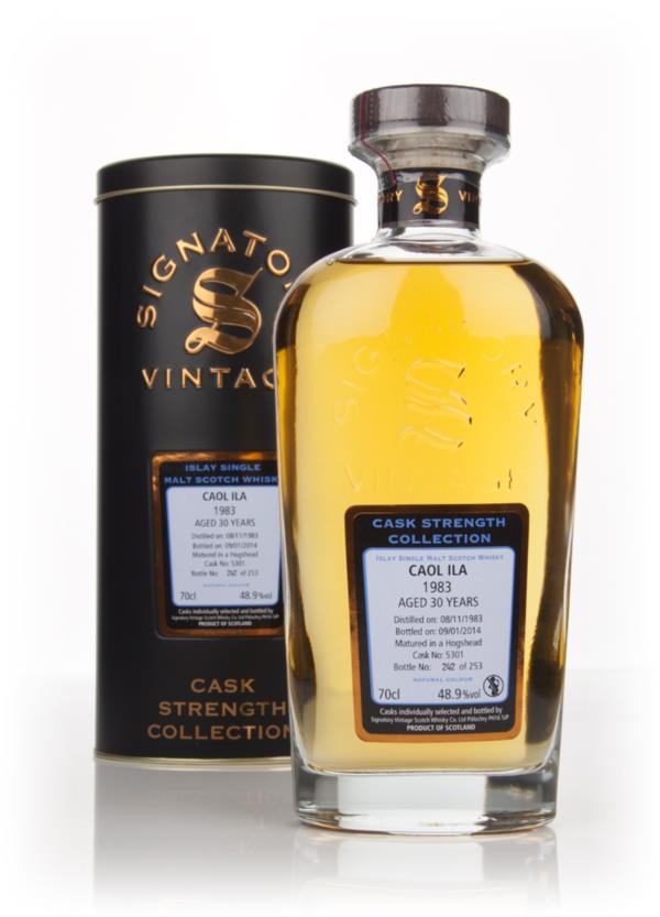 Caol Ila 30 Year Old 1983 (cask 5301) - Cask Strength Collection (Sign Single Malt Whisky