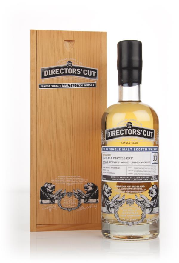 Caol Ila 33 Year Old 1980 (cask 10159) - Directors' Cut Douglas Laing Single Malt Whisky