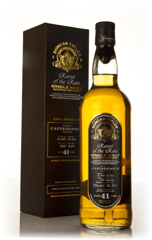 Caperdonich 41 Year Old 1969 Cask 3245 - Rarest of the Rare (Duncan Ta Single Malt Whisky