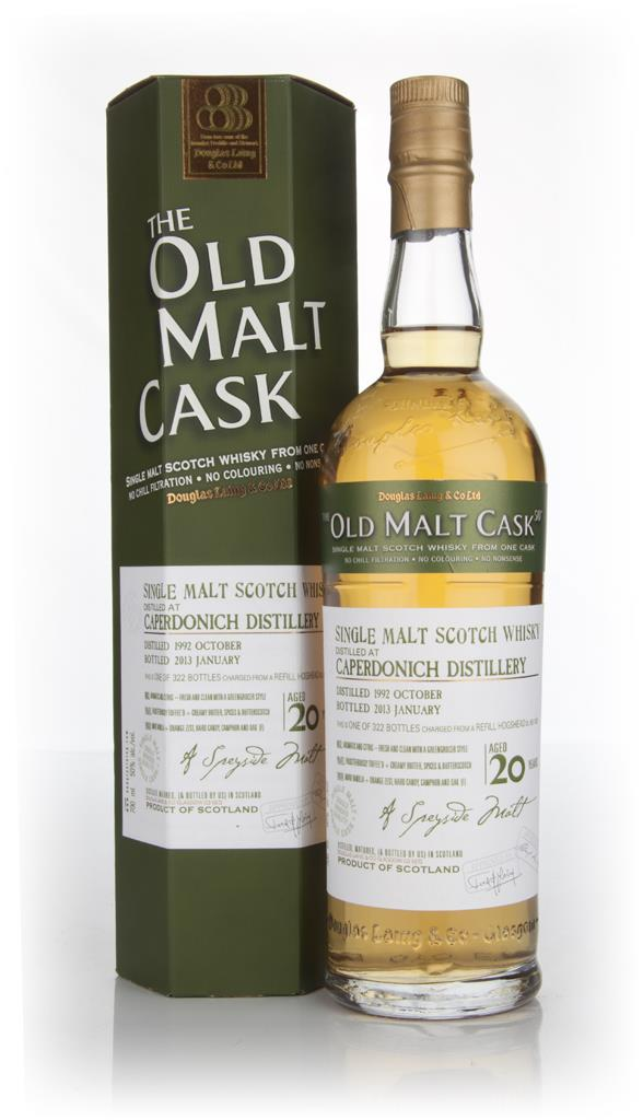 Caperdonich 20 Year Old 1992 - Old Malt Cask (Douglas Laing) Single Malt Whisky