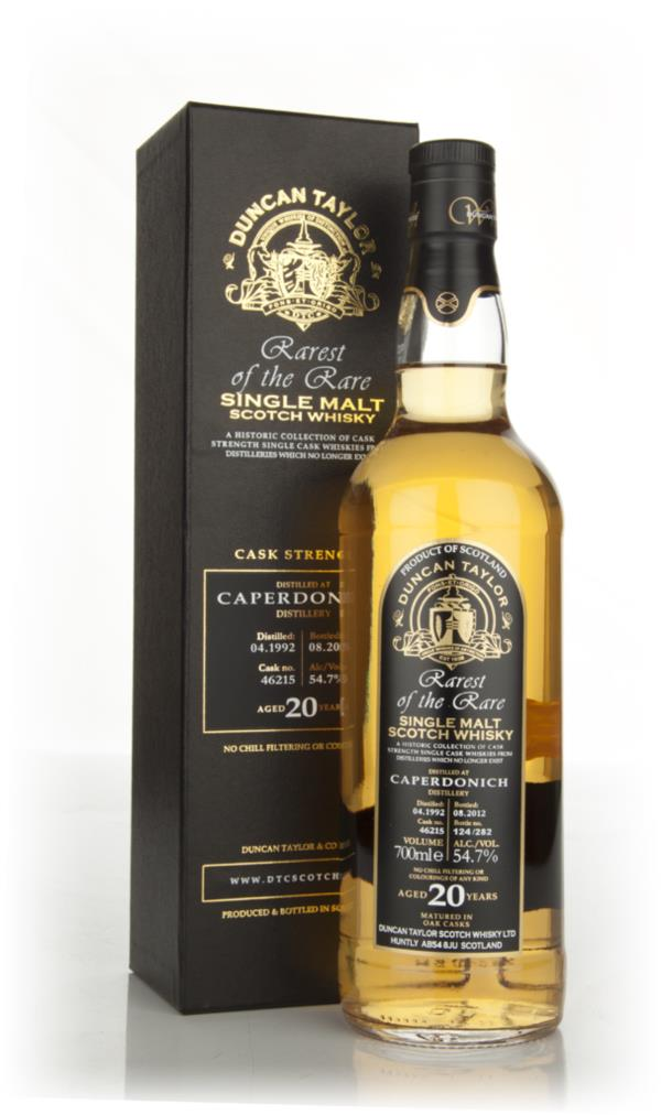 Caperdonich 20 Year Old 1992 - Rarest of the Rare  (Duncan Taylor) Single Malt Whisky