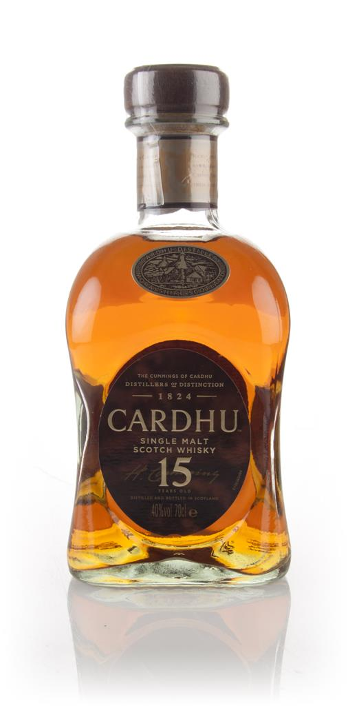 Cardhu 15 Year Old Single Malt Whisky