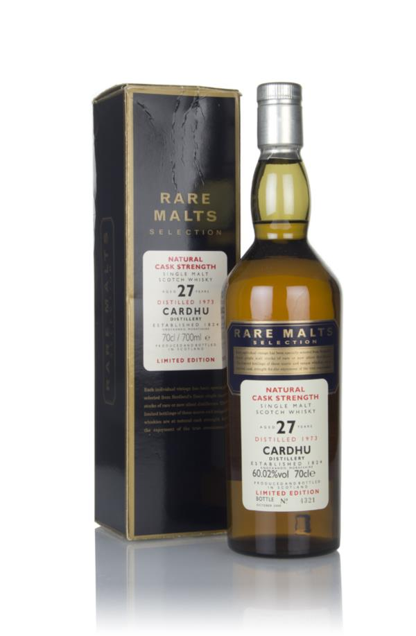 Cardhu 27 Year Old 1973 - Rare Malts Single Malt Whisky