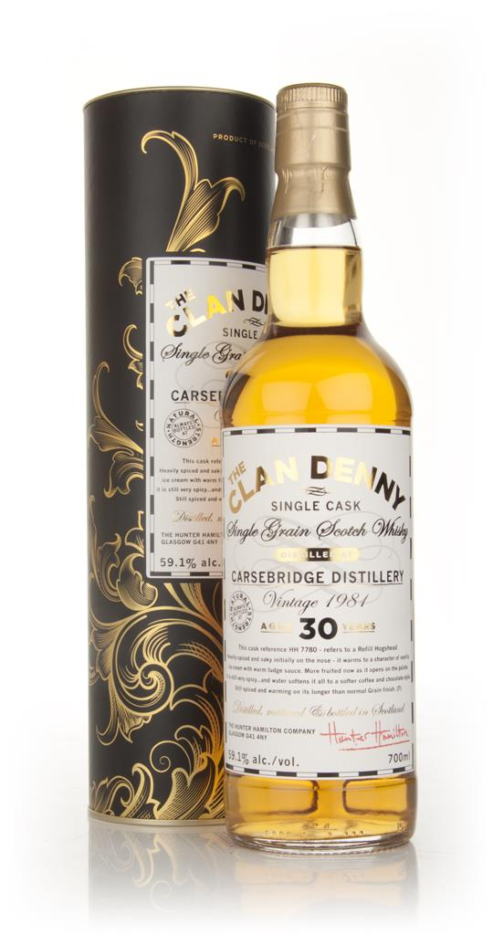 Carsebridge 30 Year Old 1981 - The Clan Denny (Douglas Laing) Single Grain Whisky
