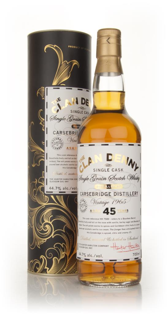 Carsebridge 45 Year Old 1965 - Clan Denny Grain Whiskies (Douglas Lai Grain Whisky