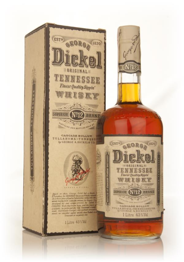 George Dickel Original Tennessee Whisky - 1980s Tennessee Whiskey
