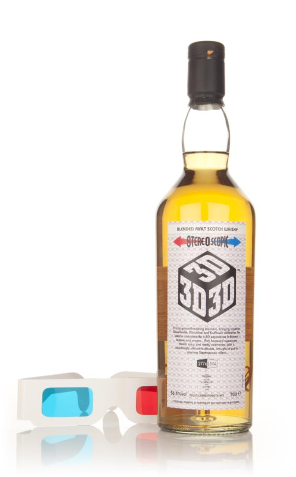 Caskstrength and Carry On - 3D Blended Malt Whisky