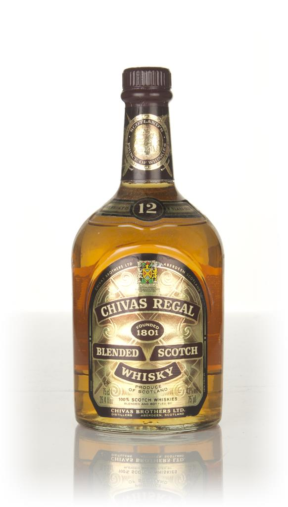 Chivas Regal 12 Year Old - 1980s Whisky