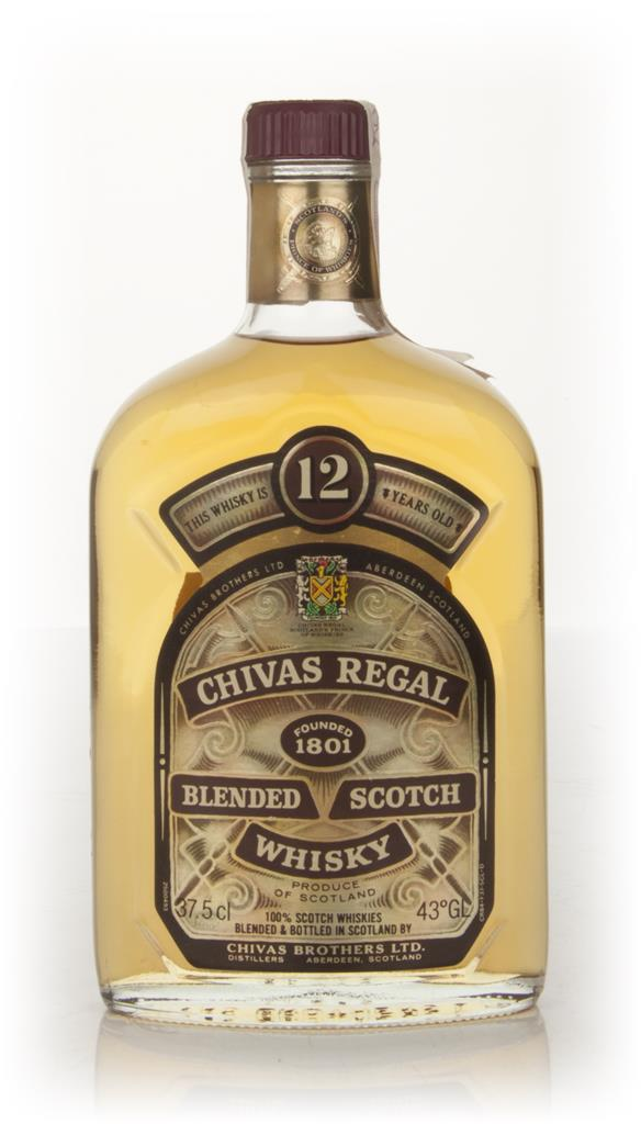 Chivas Regal 12 Year Old 37.5cl (Old Bottling) Blended Whisky