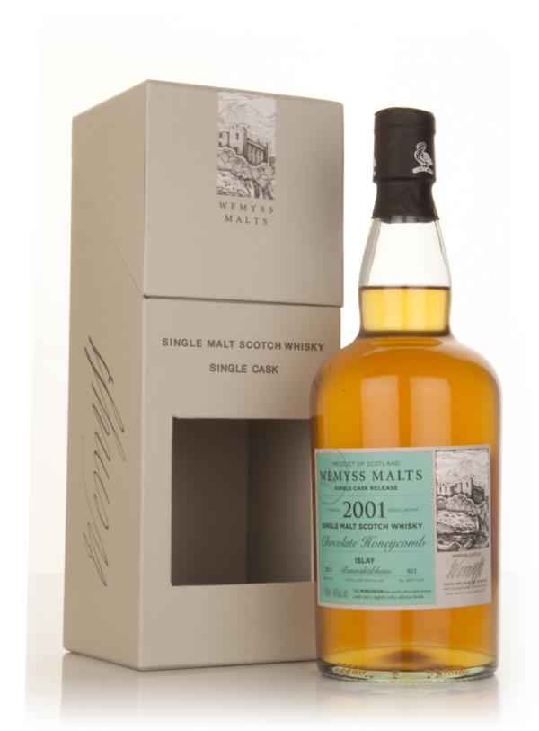 Chocolate Honeycomb 2001 - Wemyss Malts (Bunnahabhain) Single Malt Whisky