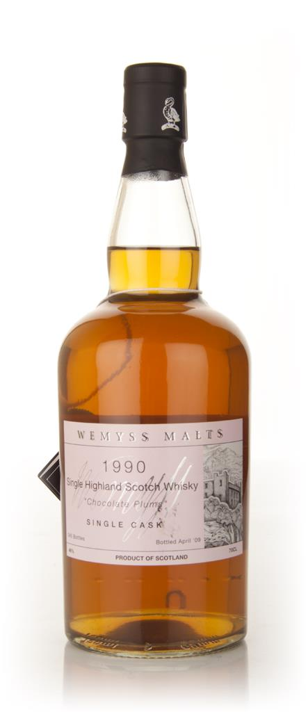 Chocolate Plum 1990 (Wemyss Malts) Single Malt Whisky