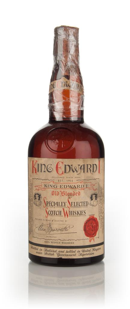 King Edward I Blended Scotch Whisky - 1960s Blended Whisky