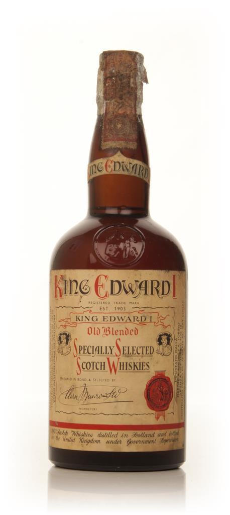 King Edward I Old Blended Whisky - 1950s Blended Whisky