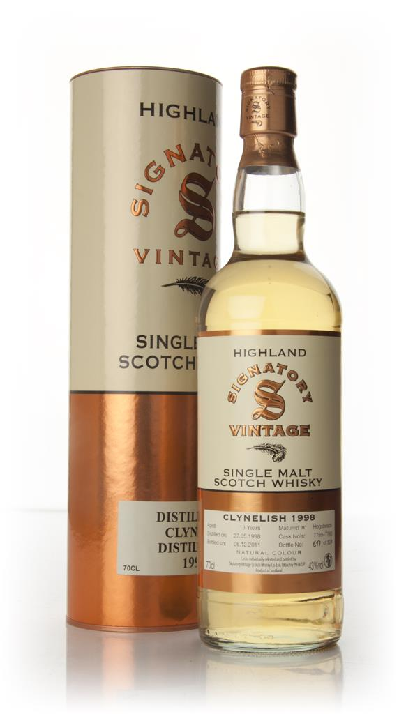 Clynelish 13  Year Old 1998 (Signatory) Single Malt Whisky